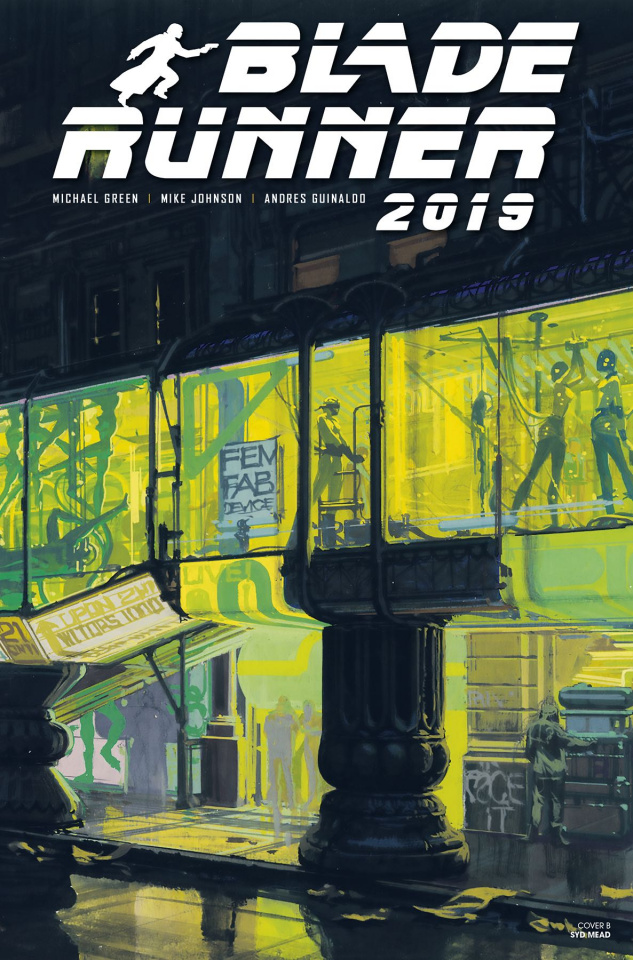Blade Runner 2019 #6 (Mead Cover)