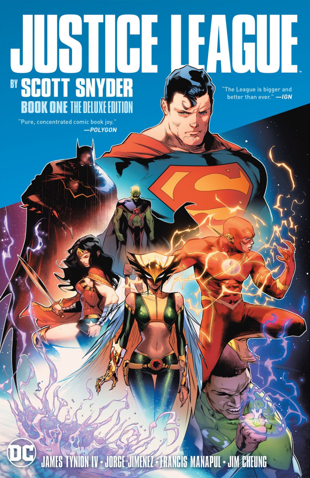 Justice League by Scott Snyder Book 1 (Deluxe Edition)