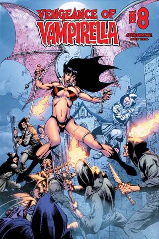 Vengeance of Vampirella #8 (Castro Bonus Cover)