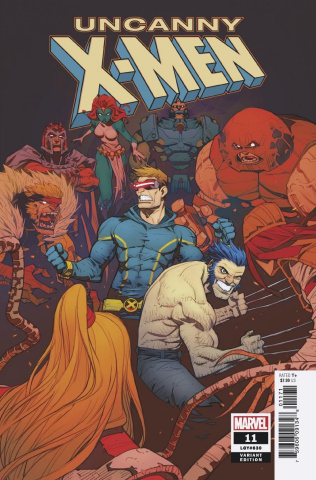 Uncanny X-Men #11 (Petrovich Cover)