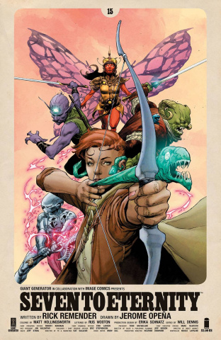 Seven to Eternity #15 (Opena & Hollingsworth Cover)