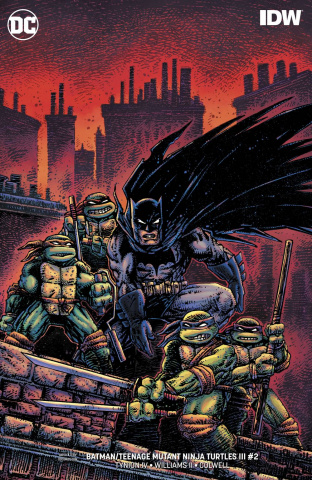 Batman / Teenage Mutant Ninja Turtles III #2 (Variant Cover)