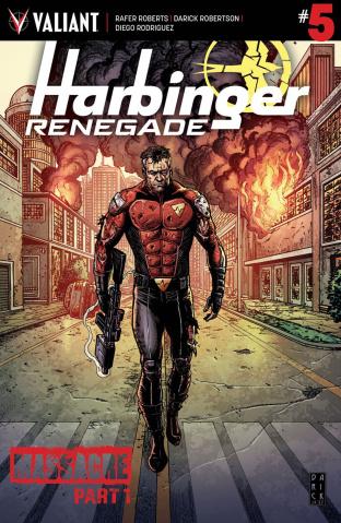 Harbinger: Renegade #5 (Robertson Cover)