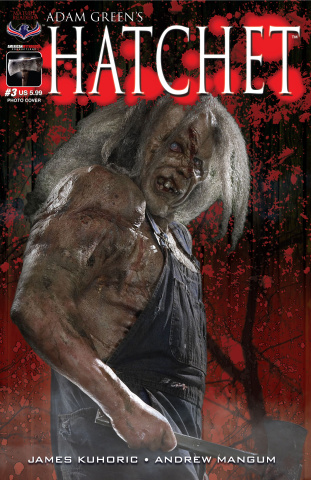 Hatchet #3 (Photo Cover)