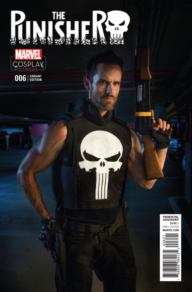 The Punisher #6 (Cosplay Cover)