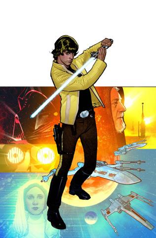 Star Wars: Rebel Heist #4 (Hughes Cover)