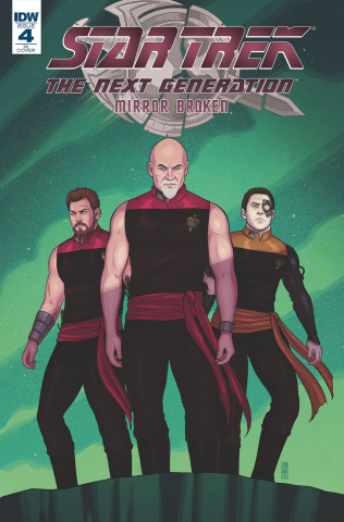 Star Trek: The Next Generation - Mirror Broken #4 (10 Copy Cover)