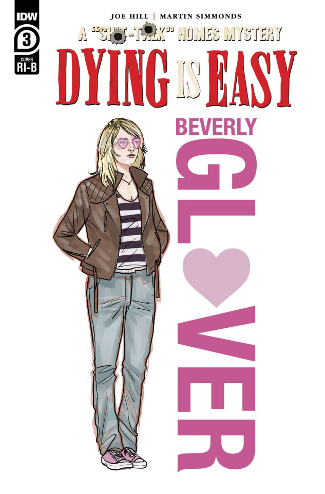 Dying Is Easy #3 (25 Copy Character Wrap Simmonds Cover)
