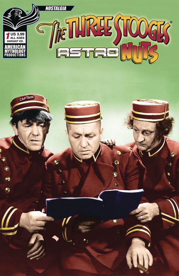 The Three Stooges: Astro Nuts #1 (Photo Cover)
