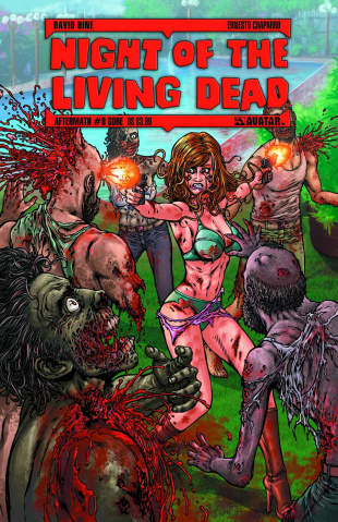 Night of the Living Dead: Aftermath #8 (Gore Cover)