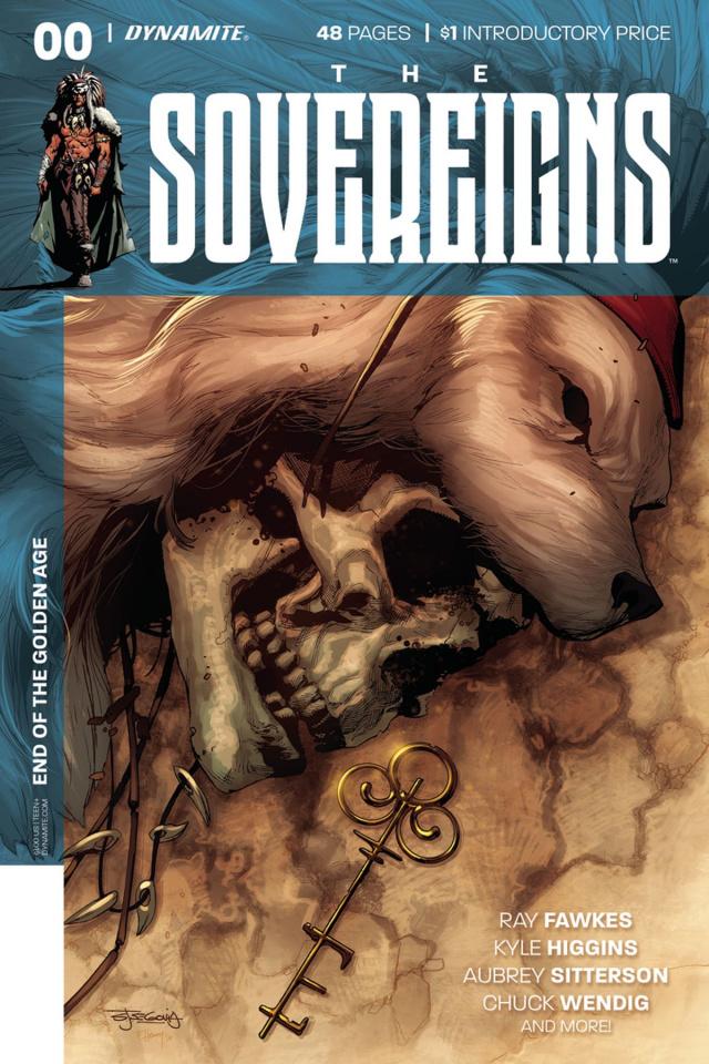 The Sovereigns #0 (Segovia Cover)