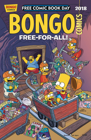 Bongo Comics Free-For-All! FCBD 2018 Special