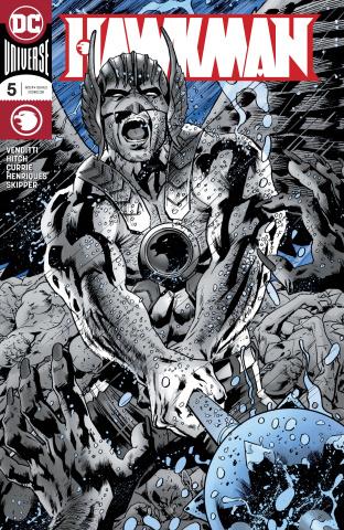 Hawkman #5 (Foil Cover)