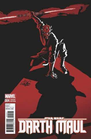 Star Wars: Darth Maul #4 (Charretier Cover)