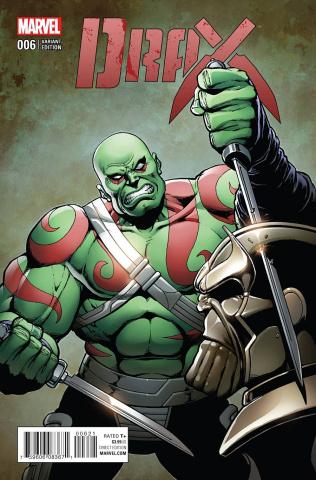 Drax #6 (Starlin Classic Cover)