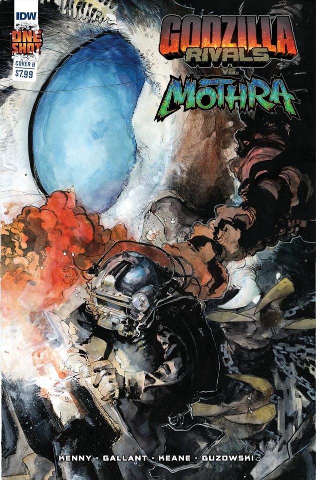 Godzilla: Rivals vs. Mothra (10 Copy Veregge Cover)