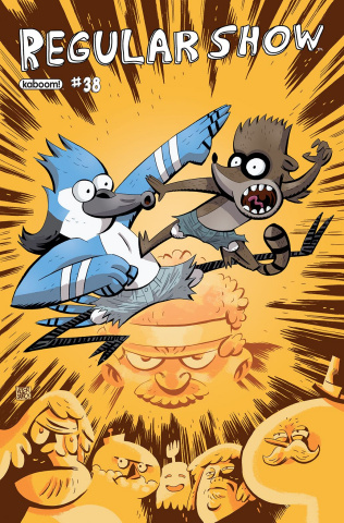 Regular Show #38 (Subscription Santos Cover)