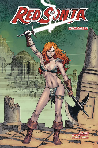 Red Sonja #21 (Chen Cover)
