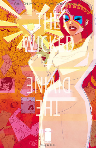 The Wicked + The Divine #28 (Charretier Cover)