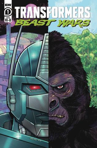 Transformers: Beast Wars #1 (25 Copy Nick Brokenshire Cover)