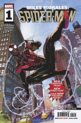 Miles Morales: Spider-Man #1 (Garron 2nd Printing)