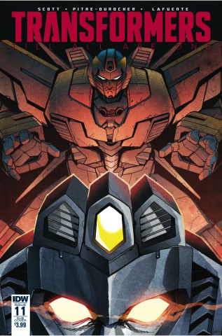 The Transformers: Till All Are One #11 (Subscription Cover)