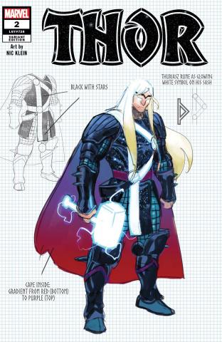 Thor #2 (Klein Design Cover)