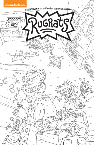 Rugrats #2 (Monlongo Cover)