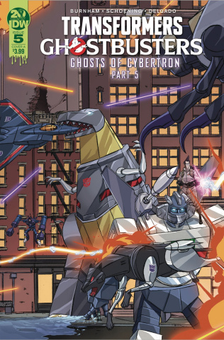 The Transformers / Ghostbusters #5 (Schoening Cover)