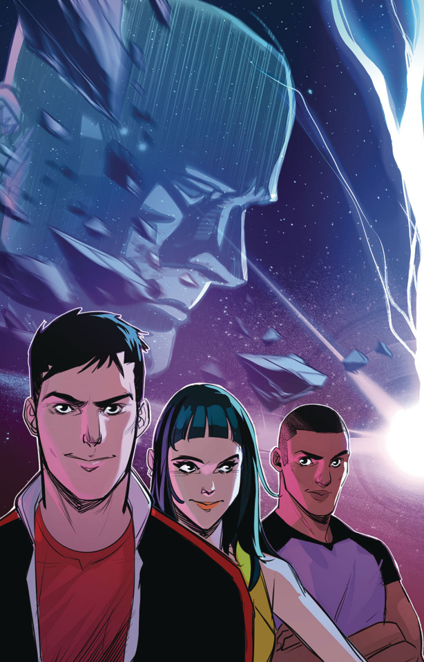 Go, Go, Power Rangers! #31 (Carlini Connecting Cover)