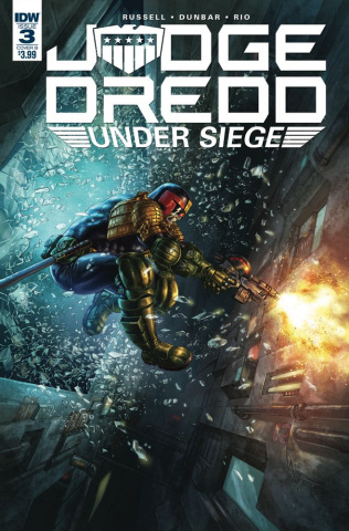 Judge Dredd: Under Siege #3 (Quah Cover)
