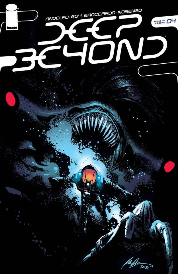 Deep Beyond #4 (Albuquerque Cover)
