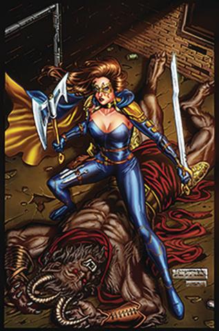 Belle: Beast Hunter #5 (Abrera Cover)