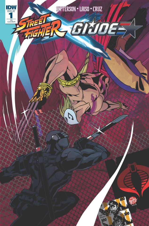 Street Fighter X G.I. Joe #1 (10 Copy Cover)