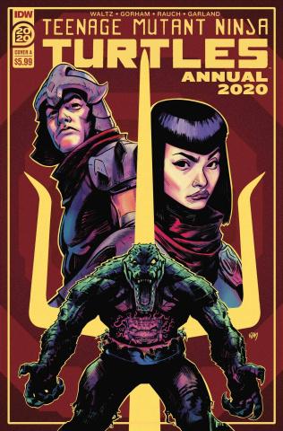 Teenage Mutant Ninja Turtles Annual 2020 (Gorham Cover)