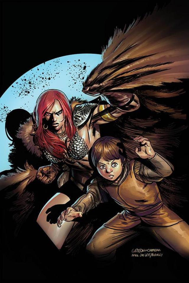 Killing Red Sonja #3 (Gedeon Virgin Homage Cover)