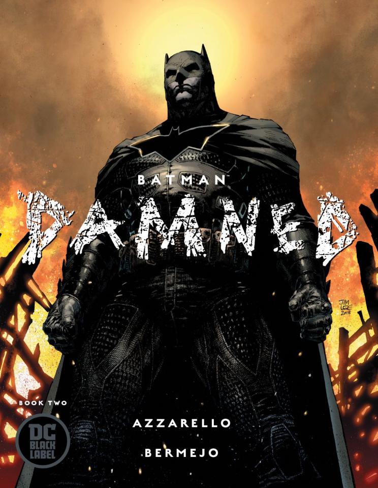 Batman: Damned #2 (Variant Cover)