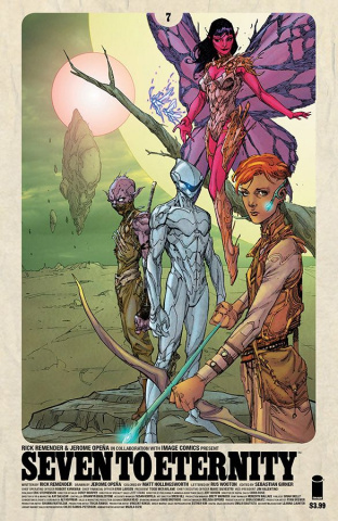 Seven to Eternity #7 (Opena & Hollingsworth Cover)