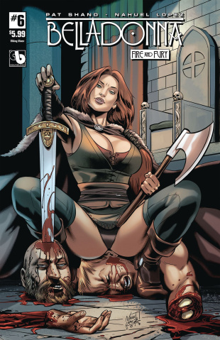 Belladonna: Fire and Fury #6 (Viking Vixen Cover)