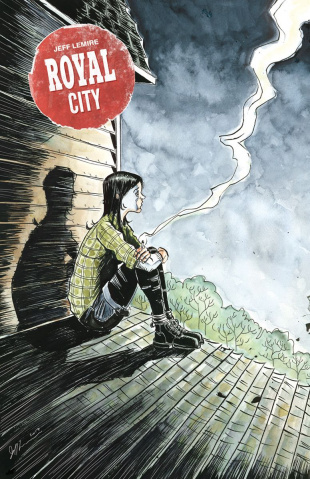 Royal City #8 (Lemire Cover)