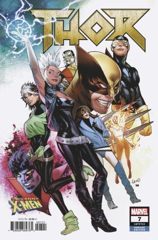 Thor #7 (Land Uncanny X-Men Cover)