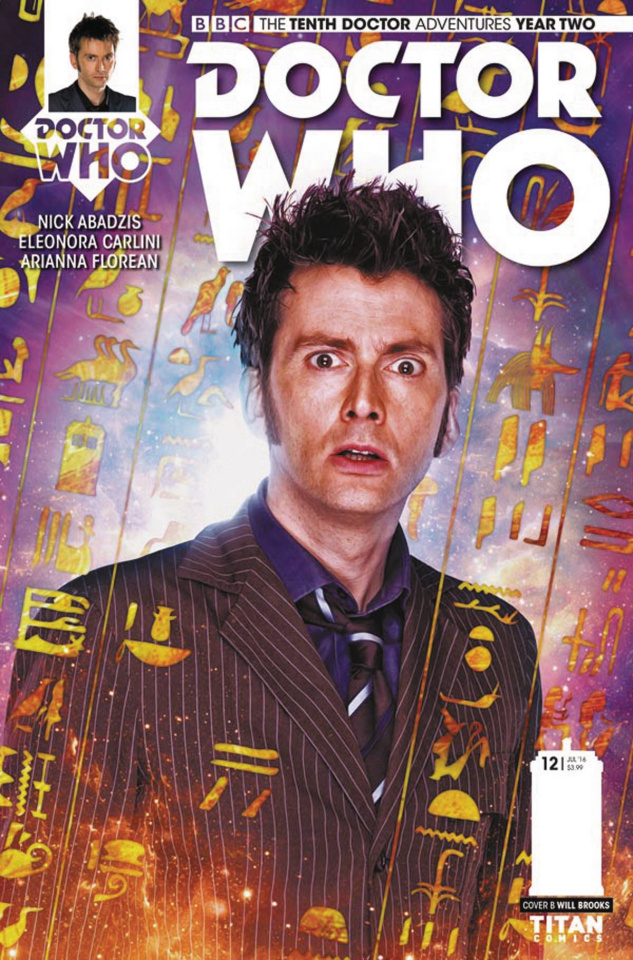 Doctor Who: New Adventures with the Tenth Doctor, Year Two #12 (Photo Cover)