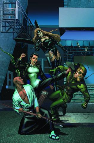 Convergence: Green Arrow #2