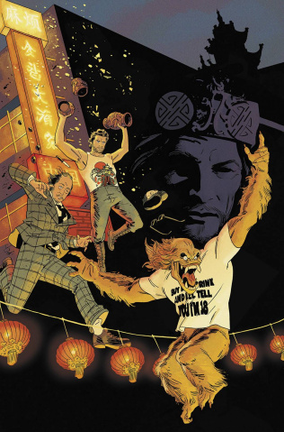 Big Trouble in Little China #4 (25 Copy Cover)