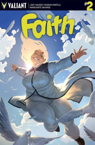 Faith #2 (Kevic-Djurdjevic Cover)