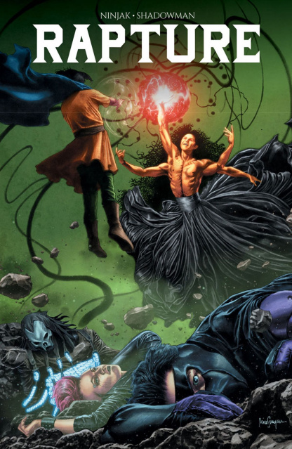 Rapture #3 (Suayan Cover)