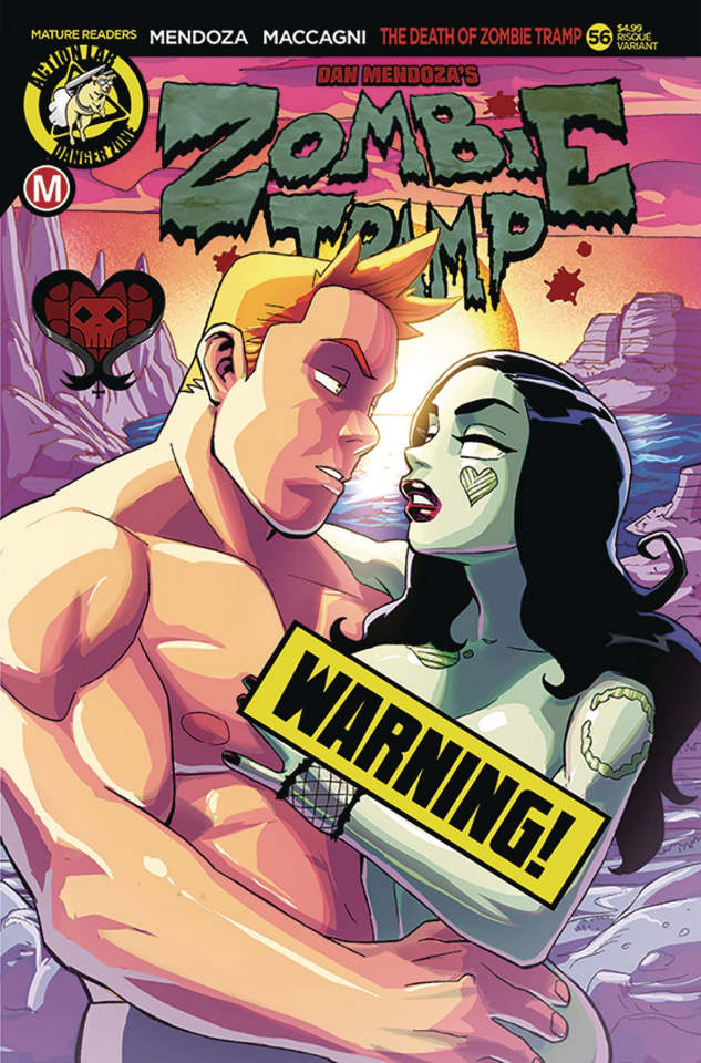 Zombie Tramp #56 (Winston Young Risque Cover)
