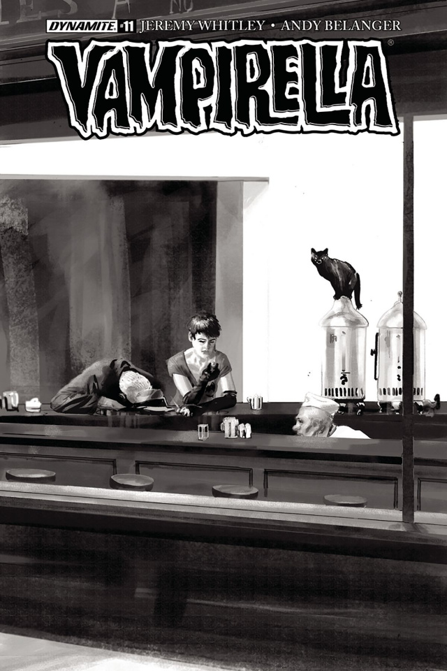 Vampirella #11 (30 Copy Broxton B&W Cover)