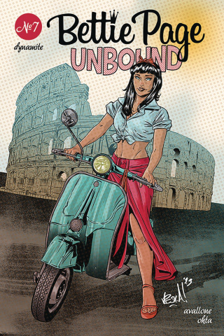 Bettie Page: Unbound #7 (Federici Cover)