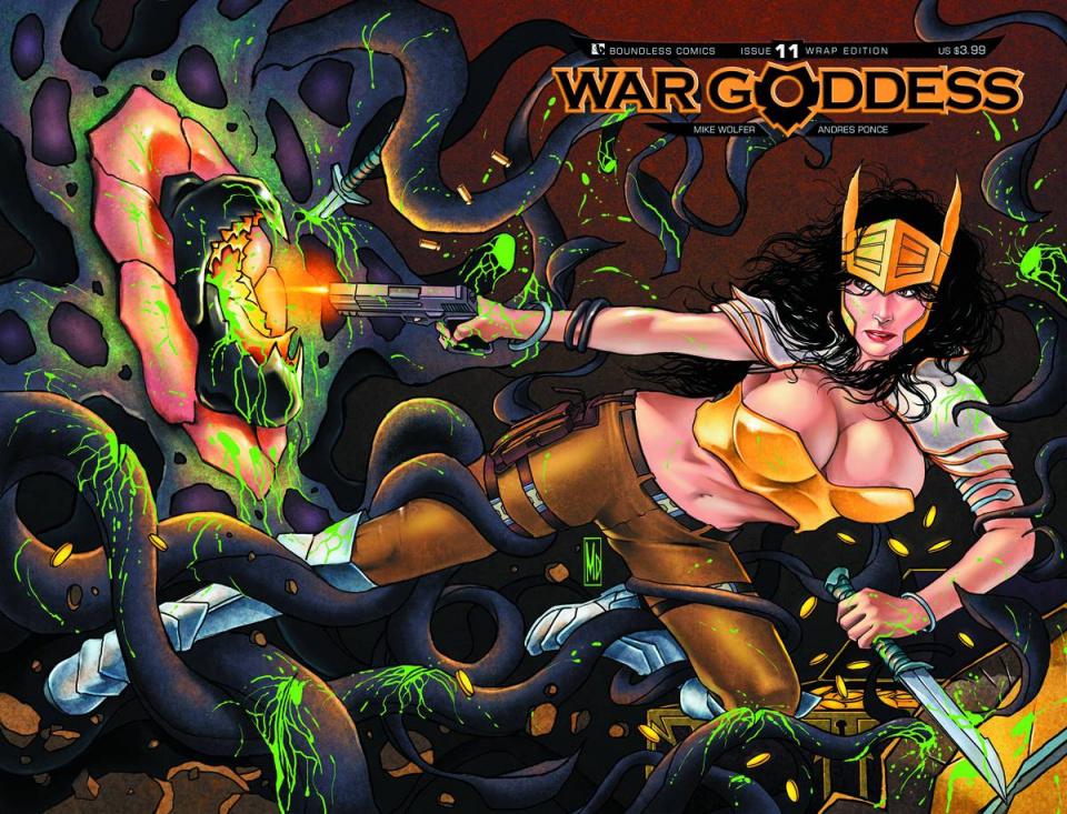 War Goddess #11 (Wrap Cover)